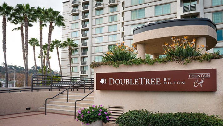 Double Tree Hazard Center San Diego